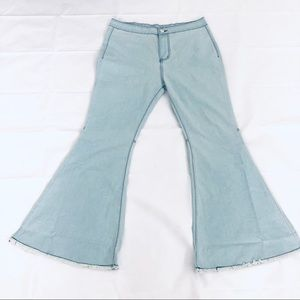 Bell Bottom Pants Plus Size 32/33 High Rise